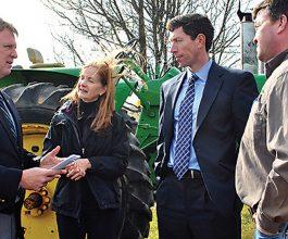 Howard County Executive Allan Kittleman announces bills protecting property rights
