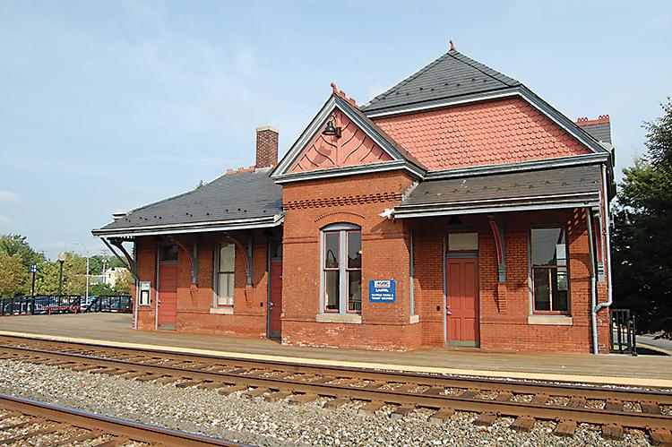 Historic Laurel MARC Station